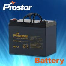 12V 35AH Sealed Lead-acid Battery for UPS/Solar Energy Systems/Maintenance-free/Deep Cycle Design
