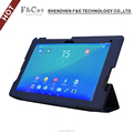 wholesales ultra slim book folio case for Sony Xperia Z4 tablet