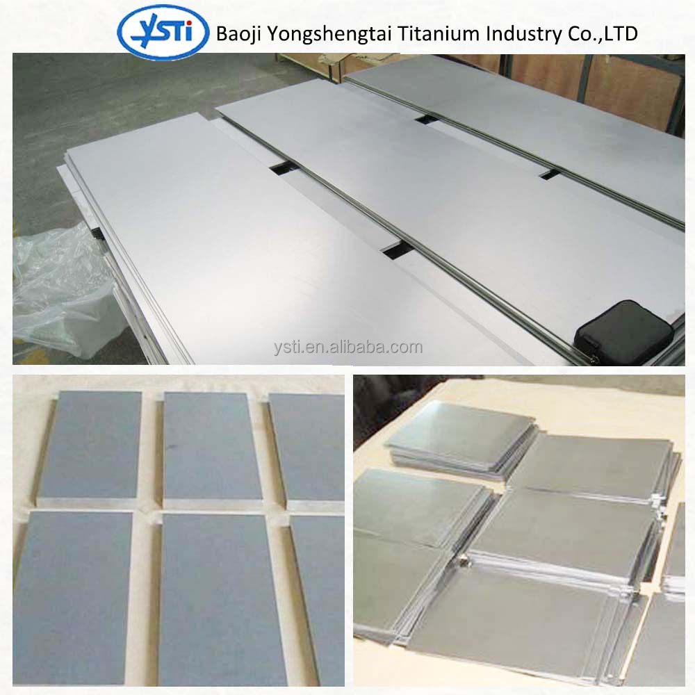 ISO 5832-3 Titanium alloy plate High quality medical use