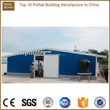 poultry chicken prefab steel structure dairy cow shed farm house
