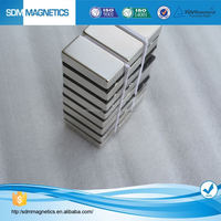 Super Strong Magnetic Field N42/N52 Neodymium Block Magnet With Ni,Zn Coating