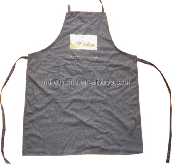 Hot sale welding brown work lether apron with pockets