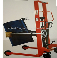 2017 High quality Hand Hydraulic drum oil truck,lifter machine