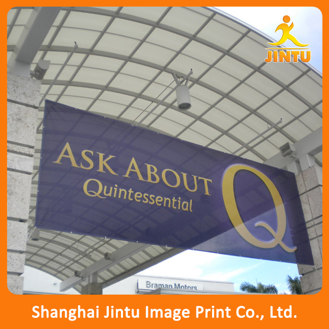 2016 Outdoor display roadside banner ,mesh banner advertising