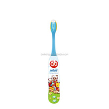 Soft bristle small brush head colorful cartoon tu child toothbrush