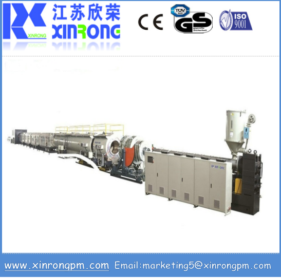 high quality hot sale pe/pvc/hdpe plastic corrugated pipe extrusion machine