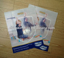 high quality photo printing plastic bag for promotional buying show