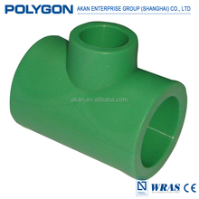 Non-toxic drainage Polygon Hot Water Supply Ppr Pipe and fittings