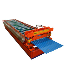 Popular Customized Cement Aluminium K Type Roof Sheet Tile Making Forming Machine For Africa