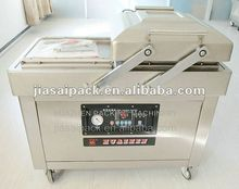 fish vacuum packing machine DZ400/2SB double chamber gas flushing vacuum sealer tea vacuum sealer