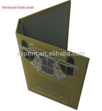 Direct factory price make cardboard book cover