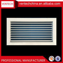 China supplier aluminum air grilles directional single deflection grille ac vent