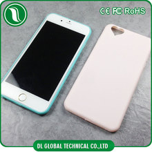 China suppliers candy color soft matte tpu mobile cover with heart hole for iphone 5s case