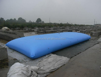 collapsible water bladder for storage and packaging water/oil/beverage/liquid