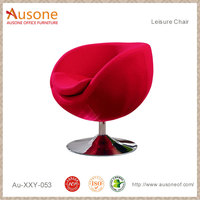 Modern Design High Quality Chairse Swivel Red Lounge Chair