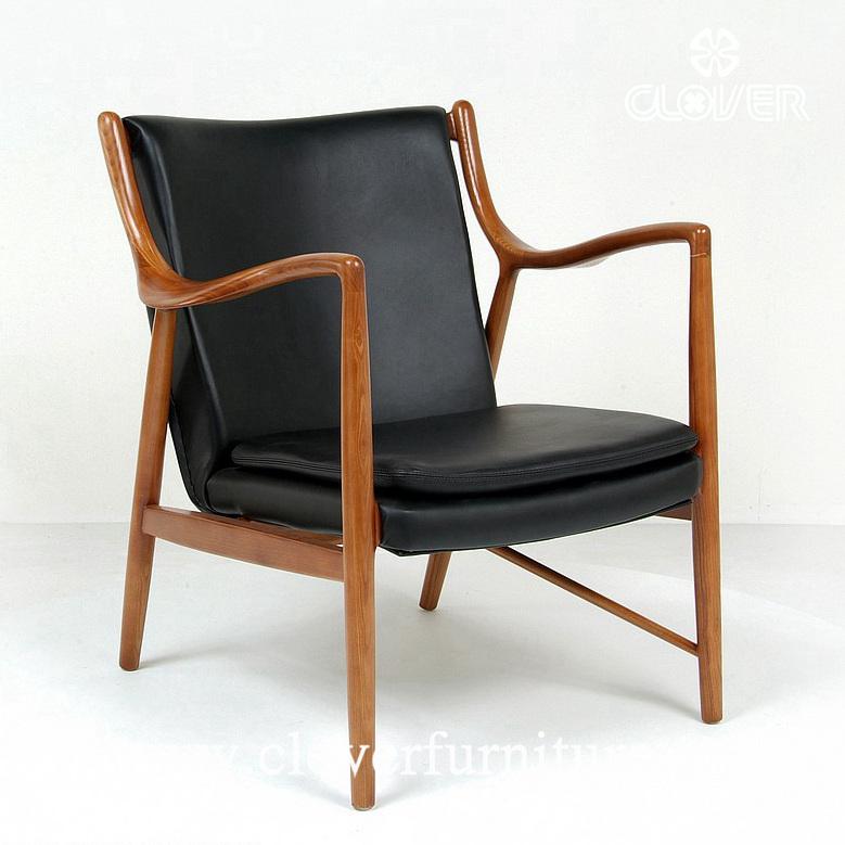 Finn Juhl Modelismo 45 Lounge Chair Replica Del Norte De