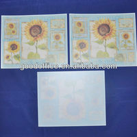 beautiful sunflower design PP placemat