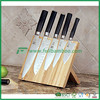 Bamboo Knife block holder /Bamboo knife rack with stand
