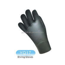 neoprene fabric spearfishing gloves for diving