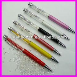 hot selling wholesale diamond crystal pen
