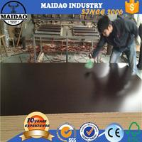18mm thick uv mdf board melamine faced chipboard