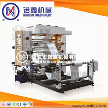 Double color thin film flexography printing machine