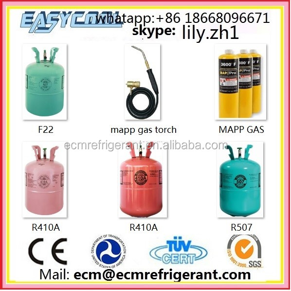 r22a r142b r600a mixed refrigerant gas r406a replacement r134a refrigerants