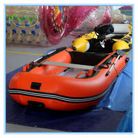Hot sale commerical use water play toys for adults ,inflatable boat and motor