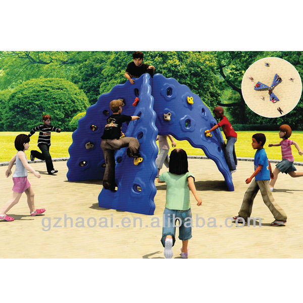 A-05203 Newest Safe Cheap Rock Climbing Wall Material