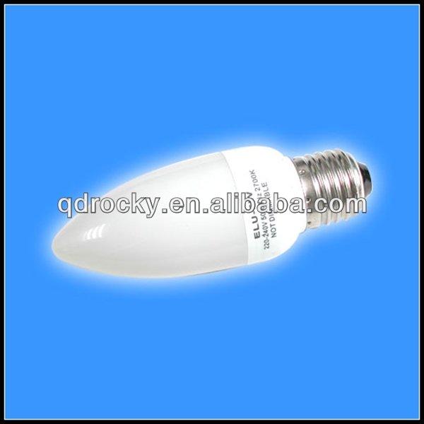 E14 11w candle cfl lamps compact fluorescent bulbs 8000hrs