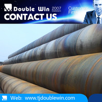 Contruction Materials/ DIN EN API 5L SSAW/ High Strength Spiral Welded Steel Pipe/Tube for Oil and Gas