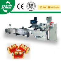 2014 Newest Automatic chocolate bar folding packing machine