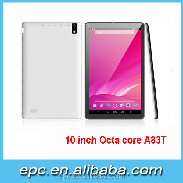 Android 5.1 OS Tablet PC 10 inch A83T Octa Core Tablet PC 4K Video Bluetooth Wifi two Cameras 8 Core Tablets 10 inch
