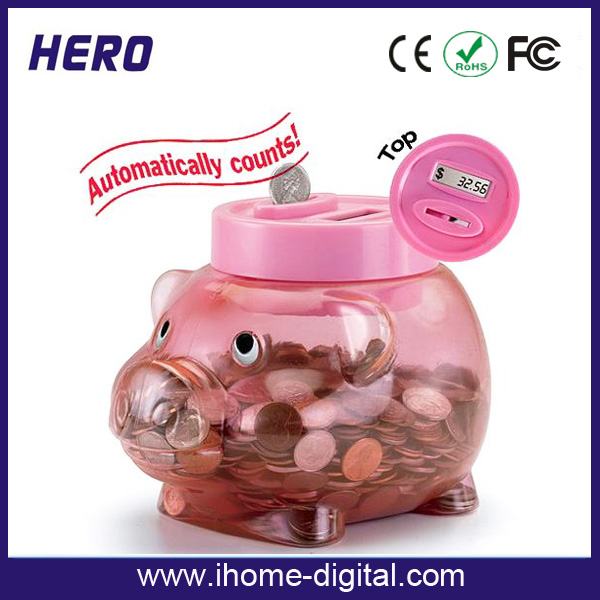 Cheap price digital coin counter with customized logo printing