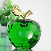 Colorful crystal apple fruit on sale