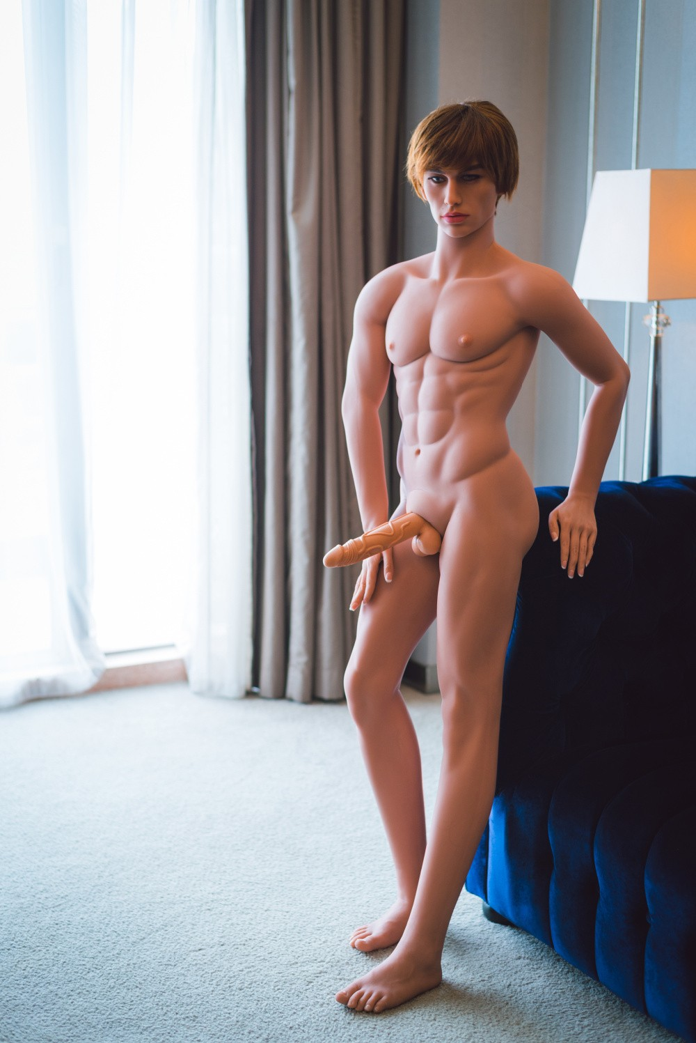 Women Fucking Male Silicone Doll 93