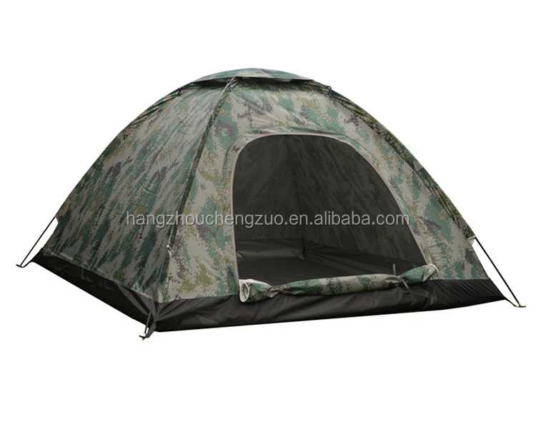Hot Sale Automatic Pop Up 2 Person Waterproof Outdoor Camouflage Tent, TXZ-0037B,Four Seasons Tent
