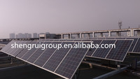 High Quality Easy Installation on the Roof Flat Single Axis Solar Tracker System