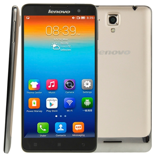 Original Lenovo S898T + 8GB 5.3 inch Android 4.2.2 IPS Screen Cell Phone, MT6589T 4 Core 1.5GHz, RAM: 1GB