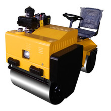 double drum road construction machine roller compactor machine road roller equipment