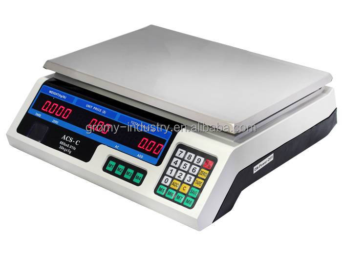 Fruit and Vegetable Scales Weighing Scales for Fruits