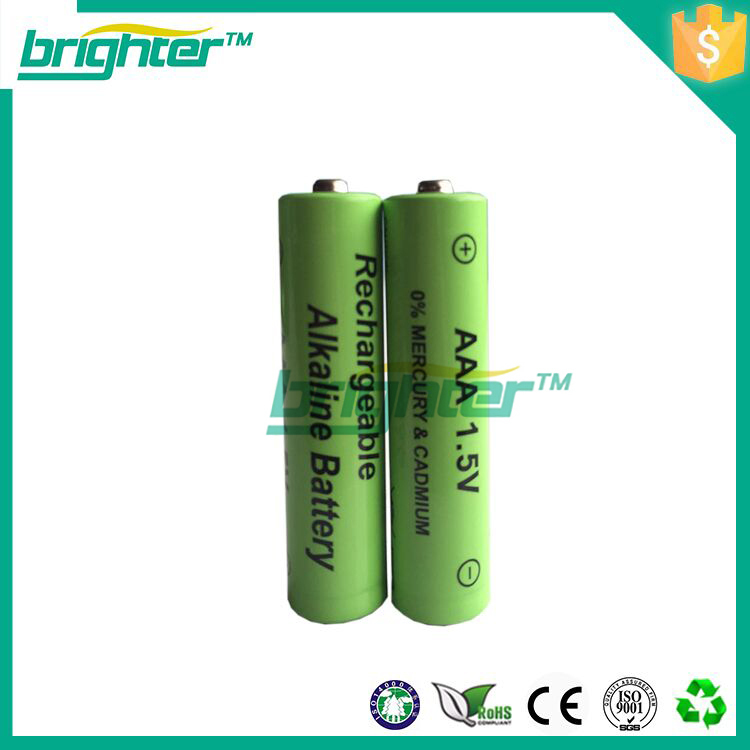 powered rechargeable 1.5v aaa lr03 alkaline battery for io hawk for video