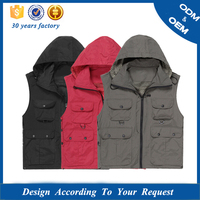 2018 China Photographer Vest Jacket Photo Vest Comfortable Padding Vest