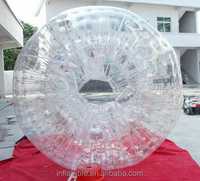 hot sale inflatable zorb ball for water/ used water body zorb ball for rental