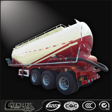 China supply powder tanker bulk cement semi truck trailer