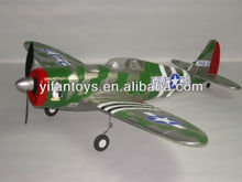Hot Sellers Lanyu 2.4G 4CH P-47 Thunderbolt EPO TW 748-3 RC Airplane