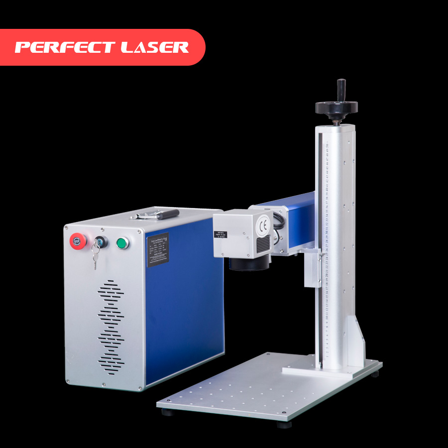 Perfect Laser- Desktop 3d pen printer fiber laser marking machine for sale