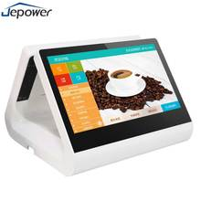 Cheap price offline supermarket billing payment edu lottery retail touch screen all in one android pos machine