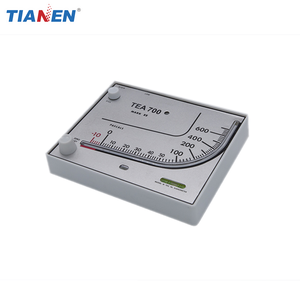 TEA700 Red oil manometer differential pressure gauge