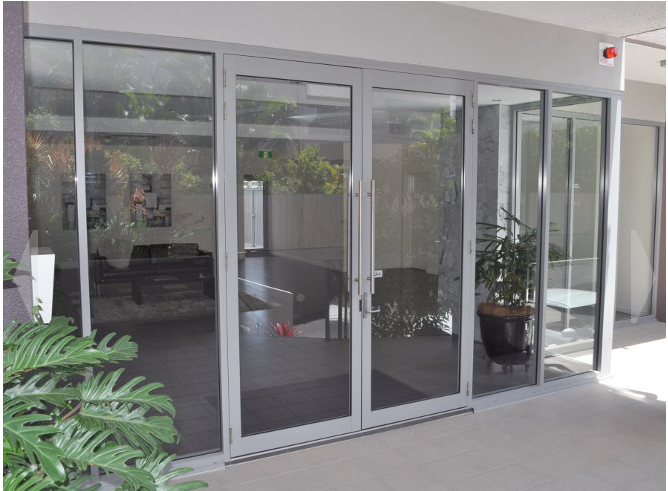 australia sydney sound/water proof doors and window with TOP hardware